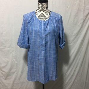 Nine West linen top